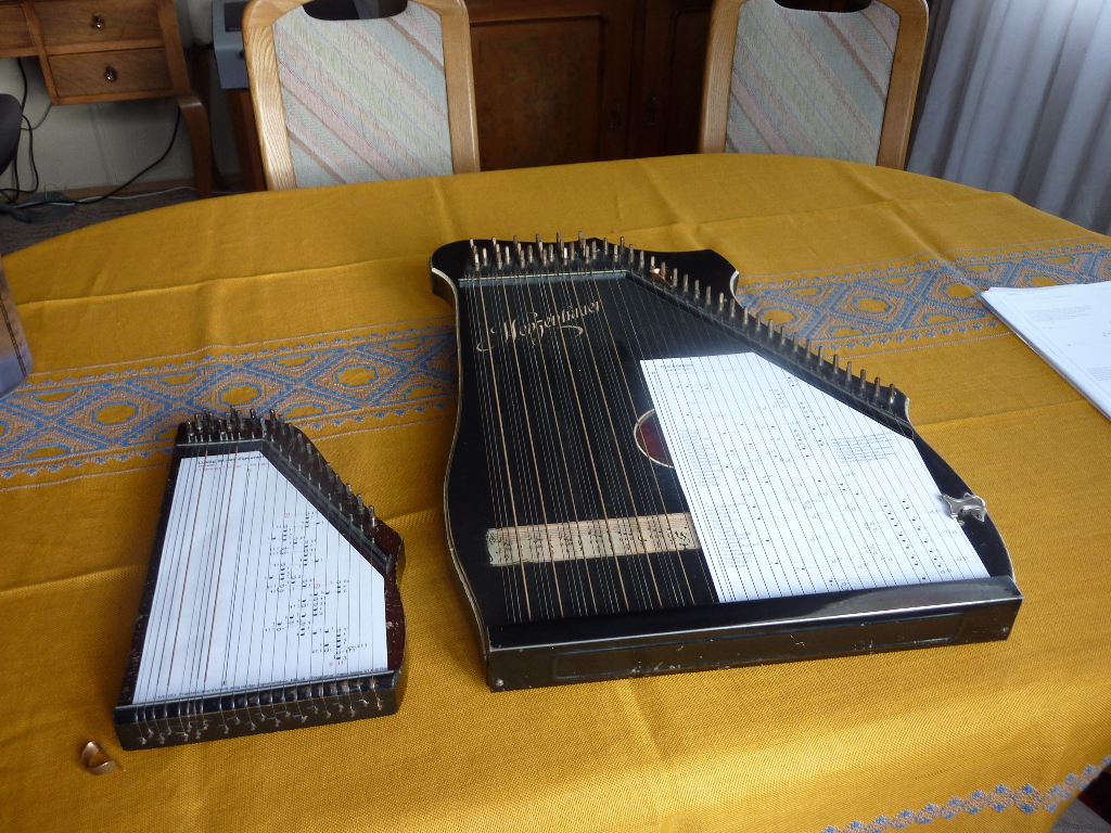 zither noten zum